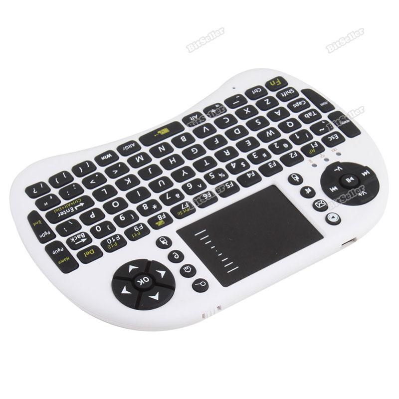 Webmax New Portable Mini 2.4G 2.4GHz Wireless Keyboard Touchpad Mouse Combo [Worldwide free shipping](China (Mainland))