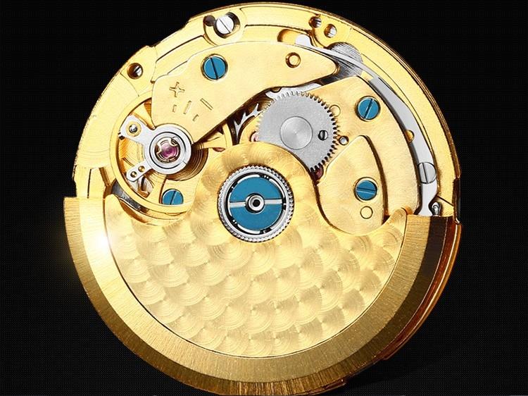 42 ММ SANGDO moon phase мужские часы Автоматическая Self-ветер движение Сапфир mirro Высокое качество PVD 2016 новый мода