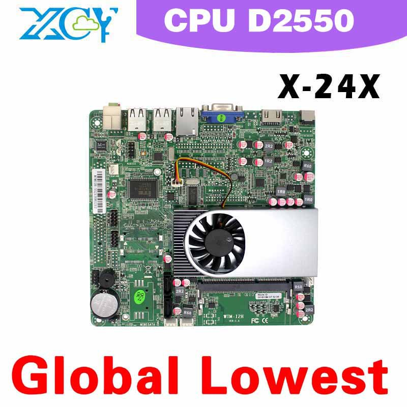 Highest cost effective!!! Intel atom D2550 motherboard desktop, atom D2550 motherboard mini , micro atx mainboard(China (Mainland))