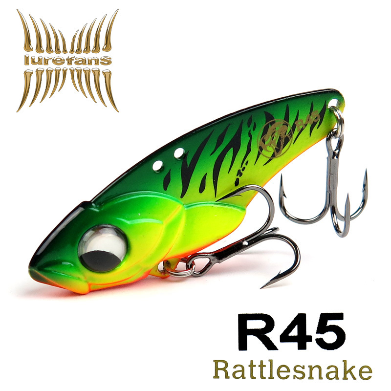 High quality fishing lure Lurefans R45 jerkbait 45mm/10g fast Sinking metal lure, Hard metal jig isca artificial pesca(China (Mainland))