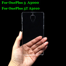 Buy Hard PC Case Ultra Thin Clear Hard Plastic Cover Protective Skin OnePlus 3 OnePlus Three A3000 / 3T A3010 One Plus 3 1+ 3 for $1.19 in AliExpress store
