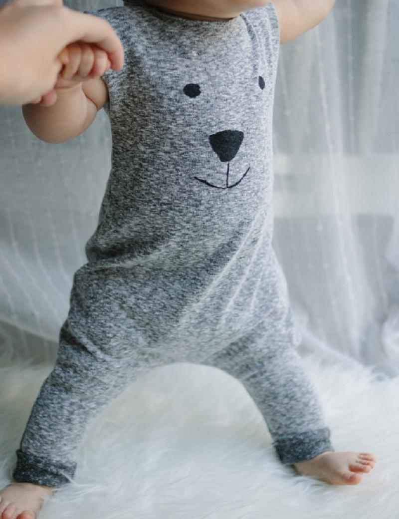 Newborn Winter Rompers 2015 Cute Toddler Baby Girl Boy