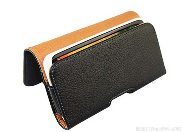 Smooth pattern/Lichee pattern Leather Pouch phone bags cases with Belt Clip For Green Orange N1 Cell Phone Accessories(China (Mainland))