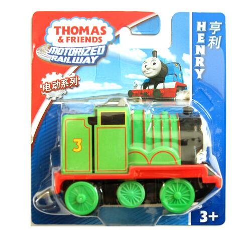 Authorized Thomas & Friends Electric locomotive Henry Diecast Metal Thomas hook Plastic metal Railroad Train kids toy(China (Mainland))