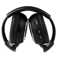 MAHA Hot 1 x Double Infrared Stereo Wireless Headphone Headset IR Car DVD Player Headrest Black(China (Mainland))