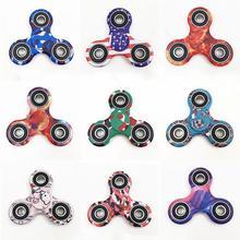 Buy 2017 Fidget Spinner Finger Spinner Tri-spinner Hand Spinner Bearing Anti Stress Fidget Toy Handspinner Plastic Glow Dark for $1.27 in AliExpress store
