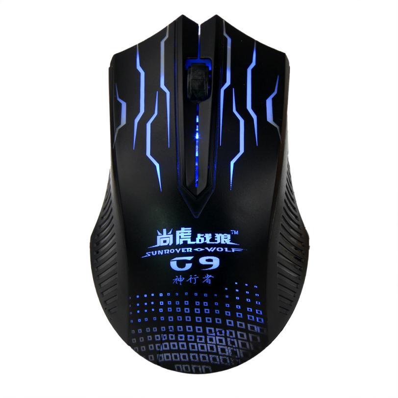 أعلى جودة تصميم الأزياء 1000 ديسيبل متوحد الخواص 3d بصري usb السلكية الألعاب لعبة الفأر الفئران للكمبيوتر محمول يوليو 6(China (Mainland))