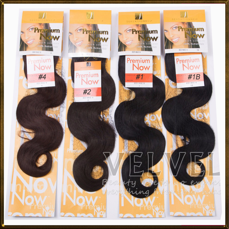 """2015 Hair Extension 18""""+100g Color1,1b,2,4 Premium Now Body Wave Hair Brazilian Extension Synthetic Wavy Weave Beauty Treasure(China (Mainland))"""