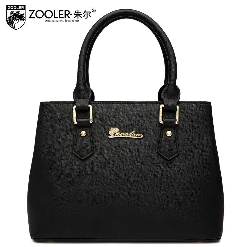 ZOOLER Brand Women Handbags High Quality Genuine Leather Bag Cowhide Women Totes Fashion Popular Shoulder Messenger Bags<br><br>Aliexpress