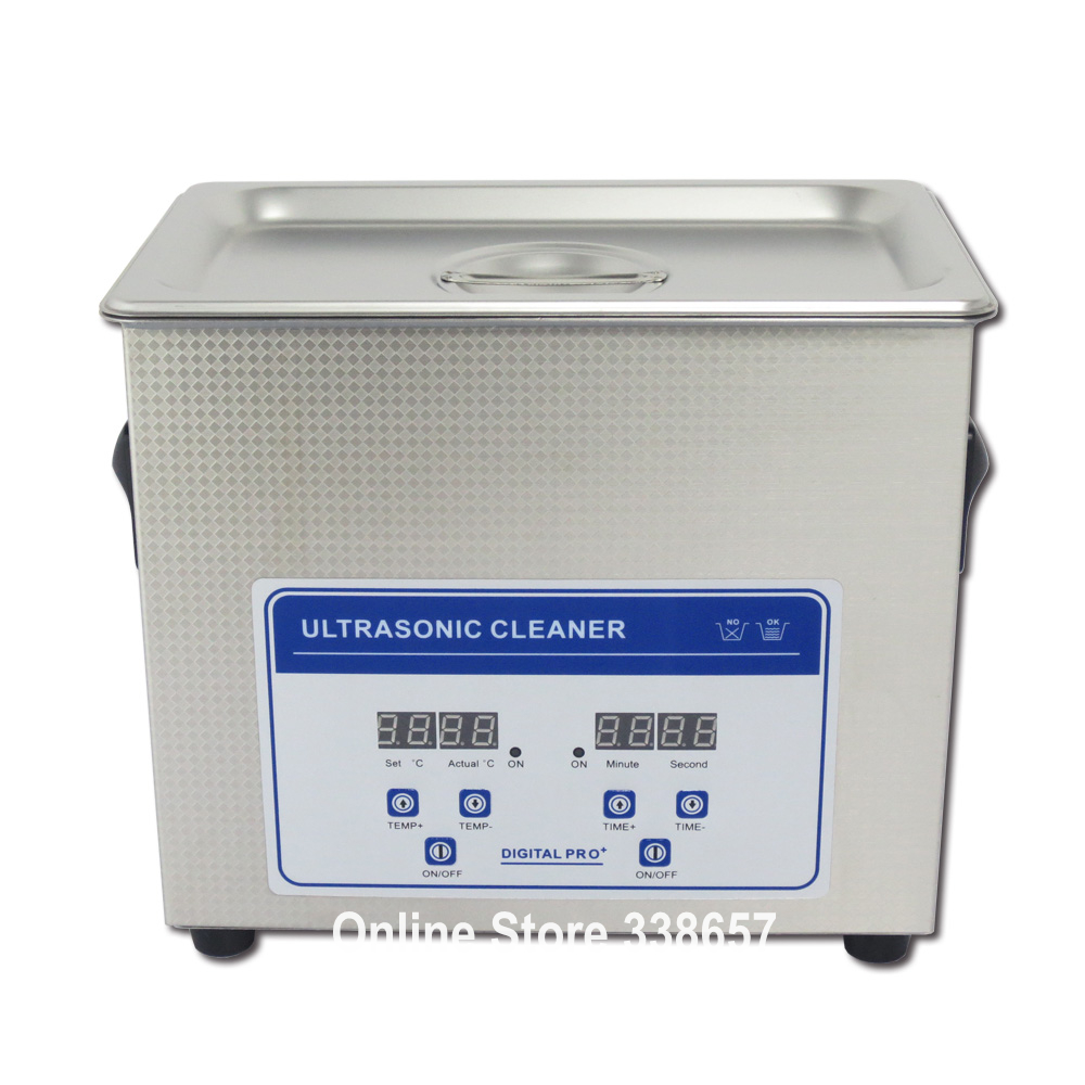 220V/ 110V 3.2L Best ultrasonic jewelry cleaner denture washing machine equipment(China (Mainland))