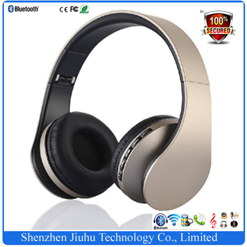 Factory Supplier 4in1 Foldable Stereo Sports Headset Wireless Bluetooth Headphones Earphone with Mic for iPhone iPad PC 10 PCS(China (Mainland))
