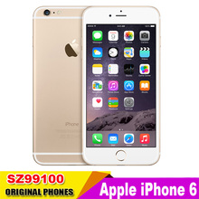 Unlocked Apple iPhone6 iphone 6 Dual Core 4.7inch 1.4GHz 8.0MP Camera 3G WCDMA 4G LTE Used Phone(China (Mainland))