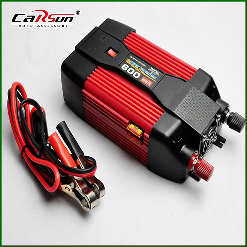 600W Modified Sine Wave Car Boat DC 12V to AC 220V& AC 5V USB Power Inverter Auto Adapter Charger For Notebook Laptop(China (Mainland))