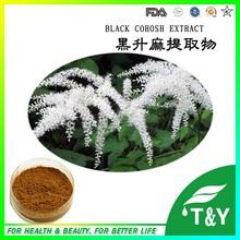 100% extract powder black cohosh root extract(China (Mainland))