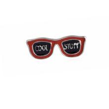 Gaya baru 6 jenis indah Kreatif Lencana Tombol Jaket Jarum Kartun Kacamata Bibir Merah Bros wanita Pin Hewan Perhiasan hadiah(China)