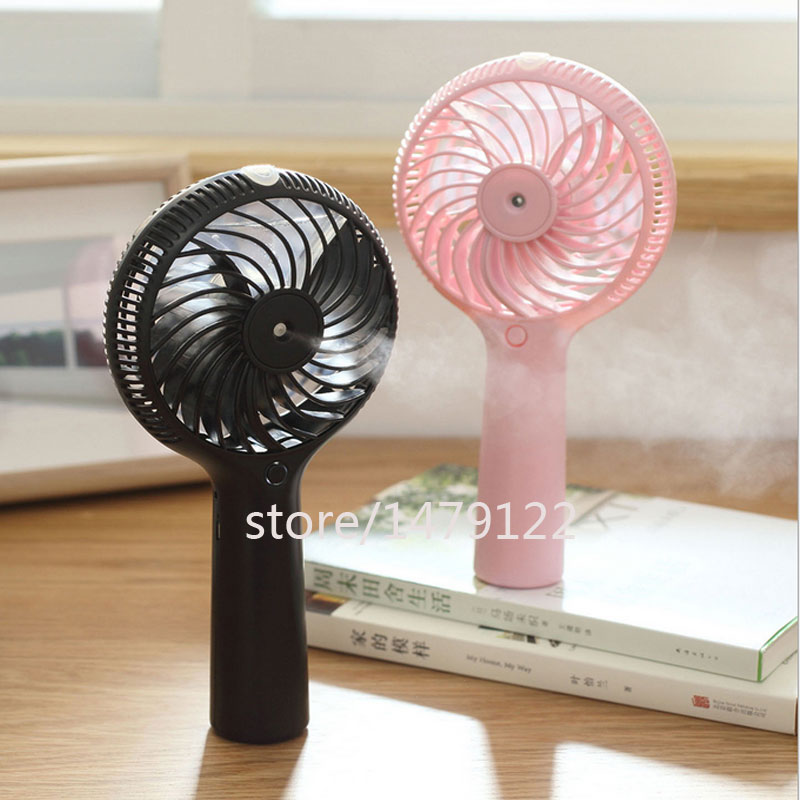 Handheld mini humidifier fan humidifier mist maker aroma diffuser Portable Rechargeable Battery(China (Mainland))