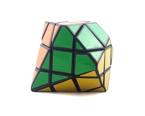 CLOVER Third-order Children's Intellectual Toys 3D Gear Exceptional Twisty Rotational Style Puzzle Magic Cube - Black(China (Mainland))