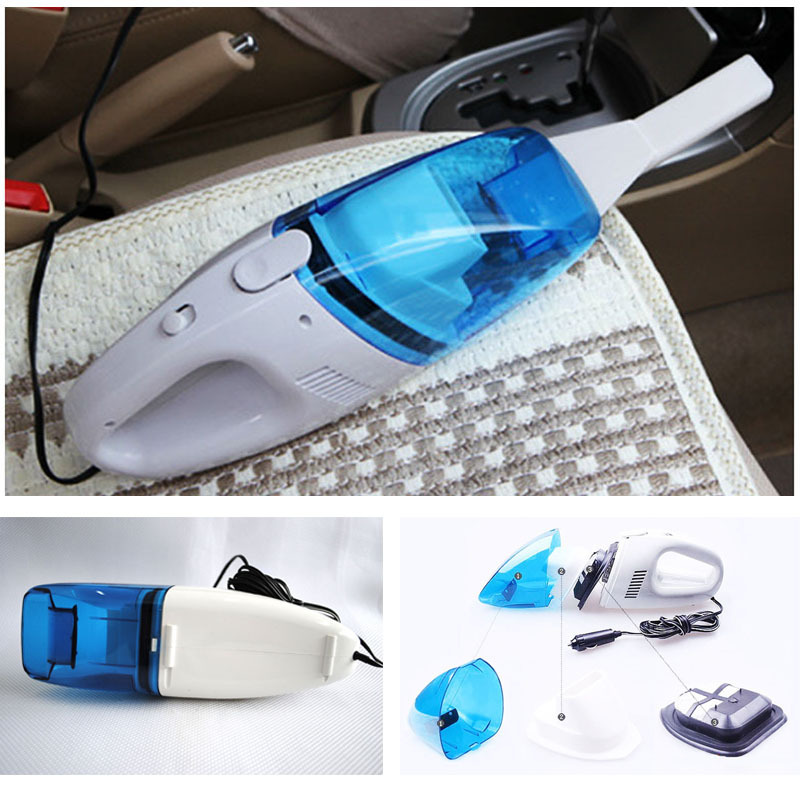 New 12V Mini Portable Car Vehicle Auto Rechargeable Wet Dry Handheld Vacuum Cleaner#A3003010(China (Mainland))