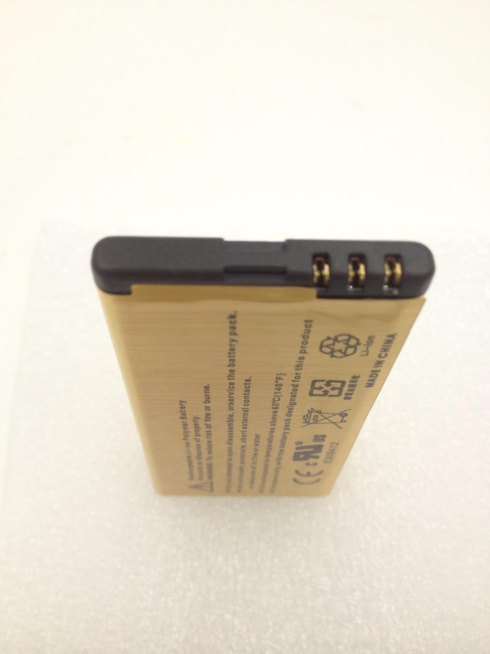 2450mAh BP 5T High Capacity Gold Battery For Nokia Lumia 820 825