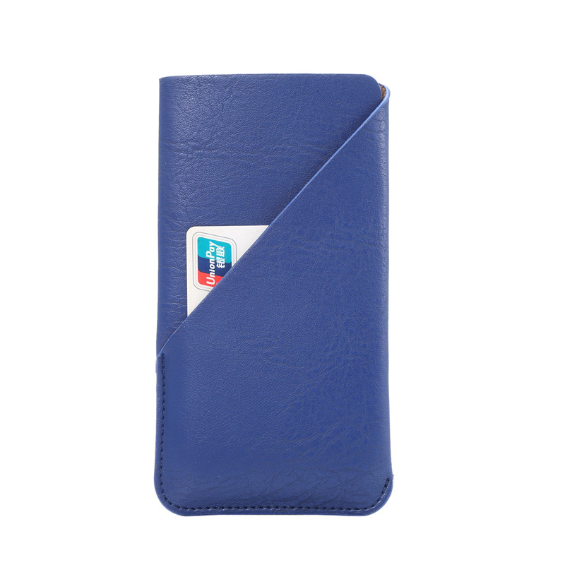 New Fashion Credit Card Holder Bag Leather Phone Case For Doogee T6 Cases Cover Cell Phone Accessories 4 Colors