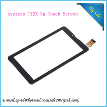 7 inch Black oysters T72X 3g Tablet Touch panel Glass FHF070076 Touch Screen Digitizer Sensor Free shipping(China (Mainland))