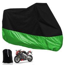 ( черный + зеленый ) цвет большой размер мотоцикла водонепроницаемый л открытый вентилируемый мотоцикл скутер пыль дождевик