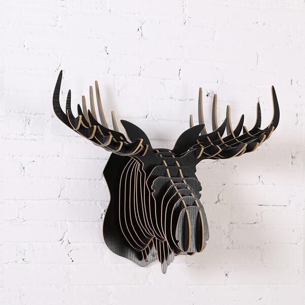 online kopen wholesale houten elandhoofd uit china houten