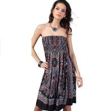 Buy Mooistar #3005 2017 Bohemian Women Dress Vintage Ropa Mujer Print Beach Summer Dress Vestidos for $6.11 in AliExpress store