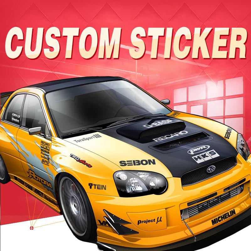 ETIE Custom Sticker Factory Direct Car Decal Wrap Accessories Motor Parts Modified Logo Emblem Auto Adhesive Vinyl Pegatinas(China (Mainland))