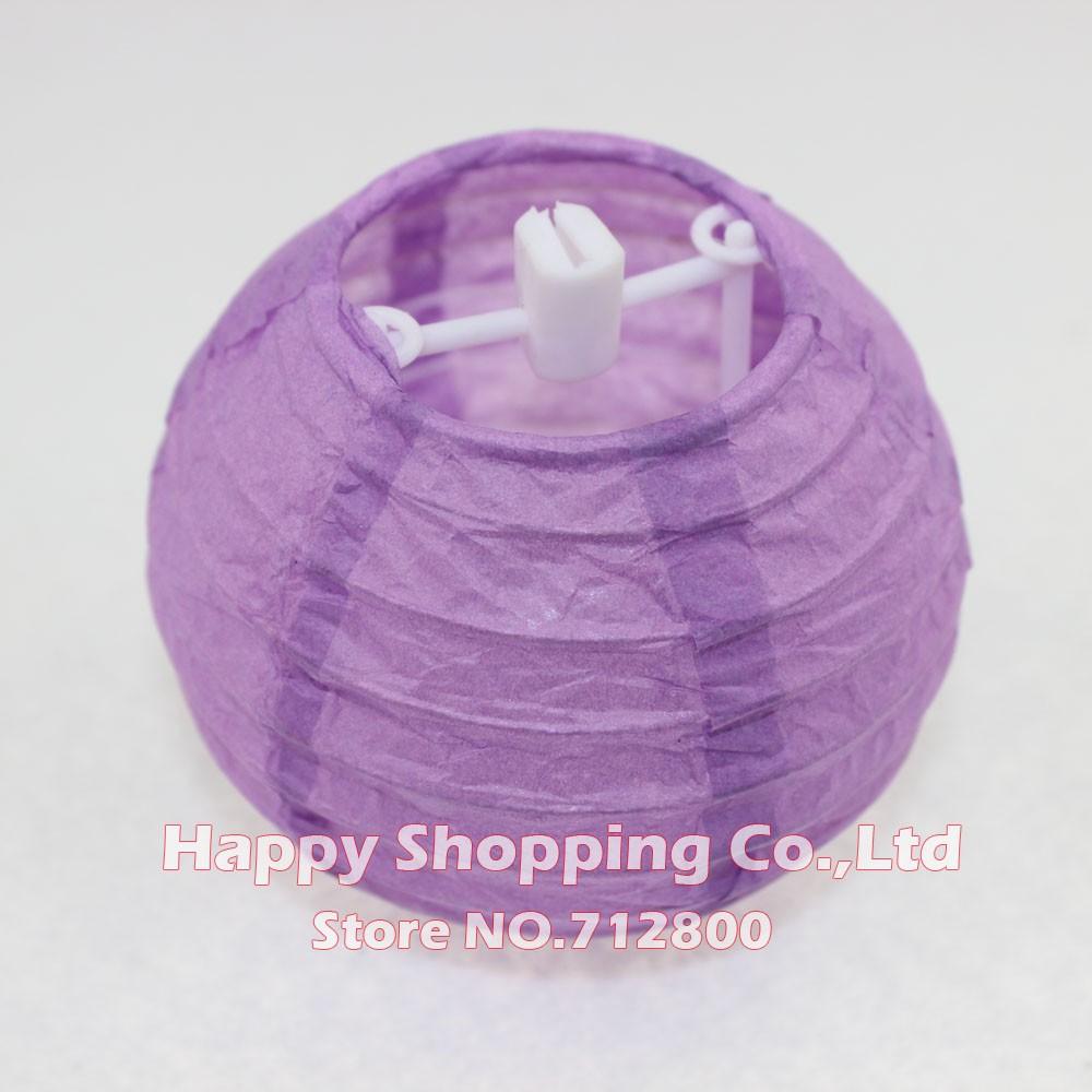 New 4inch 10cm Chinese Paper Lanterns For Wedding Party Decoration Inez Contour Plus Lipstick Roof Terracotta Ball Lantern Lampion White Blue Purple Pink Us110