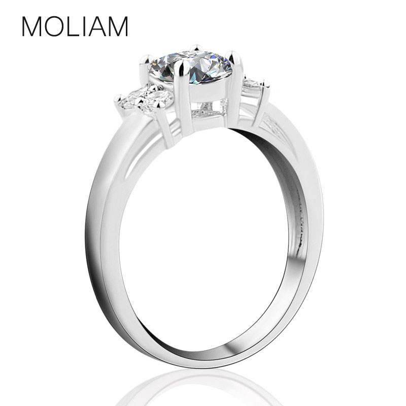 moliam best quality exquisite rings for 18k white