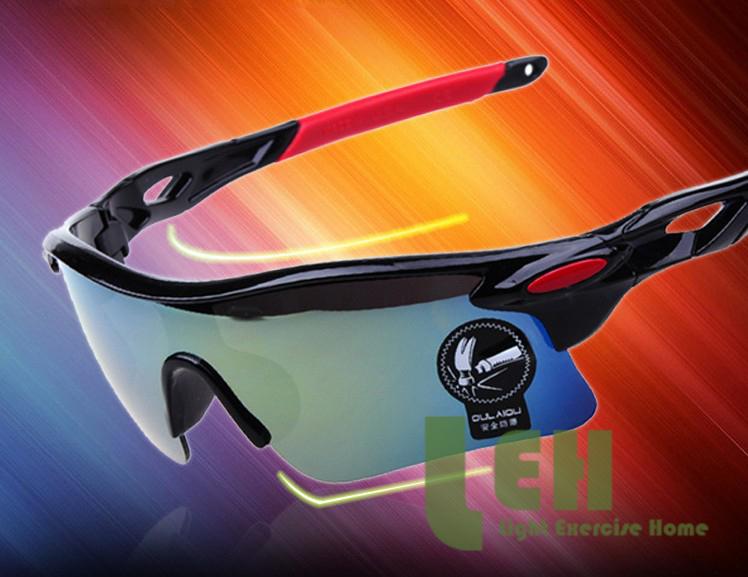 New 2015 Sport Parkour Outdoor Sports Men&Women goggle wayfarer Eyewear Bicycle Bike Glasses Polarized Sunglasses oak(China (Mainland))