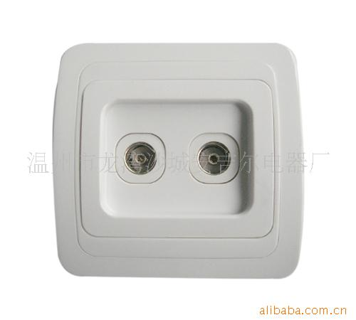 Russia Continental dual TV outlet ( Serbia dual TV socket )(China (Mainland))