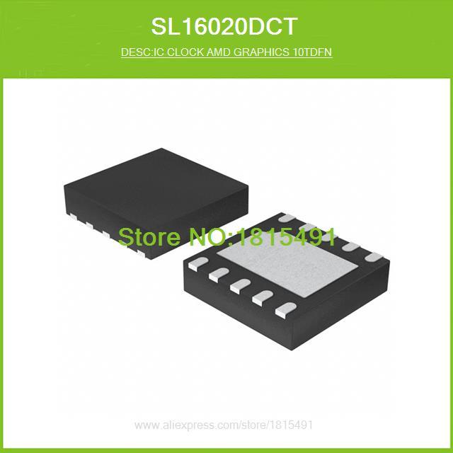 Free Shipping SL16020DCT IC CLOCK AMD GRAPHICS 10TDFN 16020 SL16020 10-TDFN 50pcs(China (Mainland))