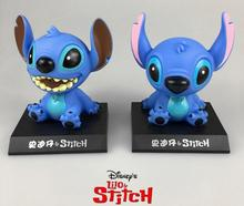 2pcs/lot Cartoon Toys For Kids Anime Cute Stitch Action Figures Dolls Children Christmas Gifts Brinquedos