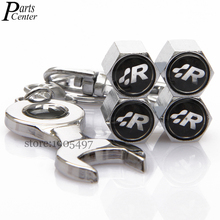 Buy 4Pcs SR R Racing Logo Stainless Steel Wheel Tire Valve Tyre Stems Cap VW Polo Passat Magotan Tiguan Golf Wrench Keychain for $4.98 in AliExpress store