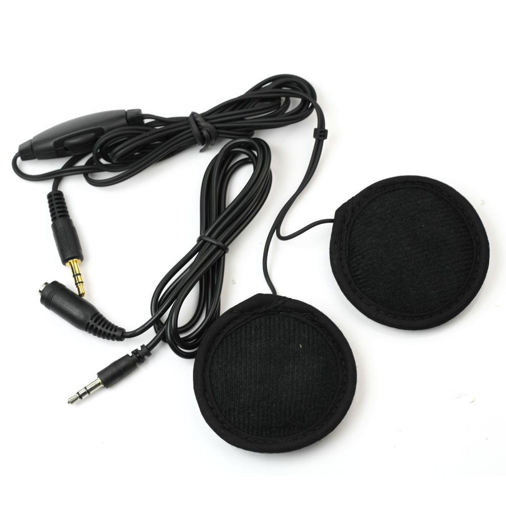 Motorbike Motorcycle Helmet Headset Stereo Speakers Volume Control for MP3/4 Radio iPod S03(China (Mainland))