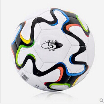 Hot sale New style 2014 Brazil World Cup Soccer ball football High Quality PU material size 5 for match(China (Mainland))