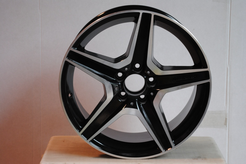 "19"" MERCEDES BENZ C63 AMG GUNMETAL RIMS WHEELS 4 S CLASS E CLASS E350 S500 S550 W814(China (Mainland))"