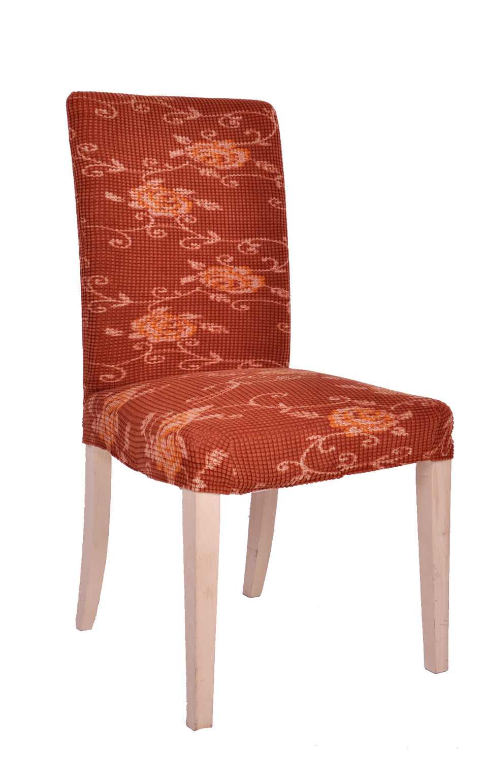 Dining Room Jacquard Spandex Printed Dyed Chair Covers Anti-Mite Oil-proof Waterproof Washable Chair Slipcovers Wedding Hotel(China (Mainland))
