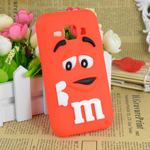 Samsung Galaxy J1 J2 J3 J5 J7 J700F Cute 3D Cartoon M&M'S Chocolate Beans Soft Silicone Case Cover Back Capa - Christina's No.1 Store store