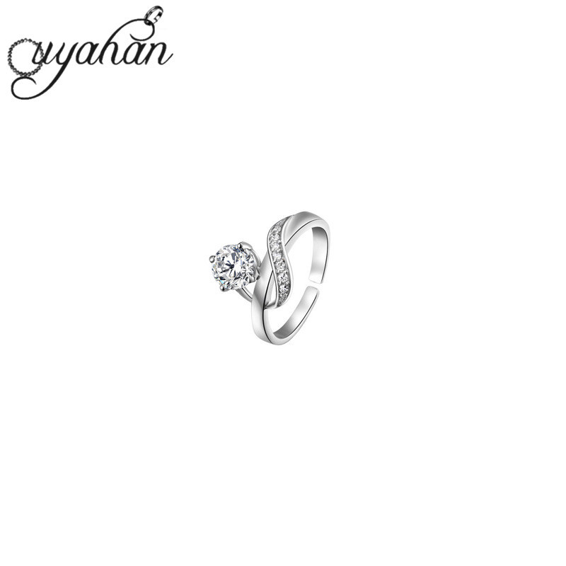 Hot selling romantic gift for wife girlfriend finger suitable one crystal jewelry Antique ring size fitted openings ring KKJ(China (Mainland))