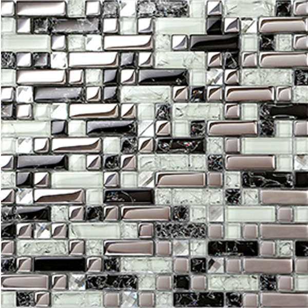 popular white glass tile backsplash buy cheap white glass