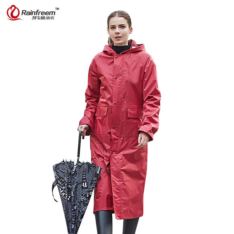 Rainfreem Impermeable Raincoat Women/Men Waterproof Trench Coat Poncho Single-layer Rain Coat Women Rainwear Rain Gear Poncho(China (Mainland))