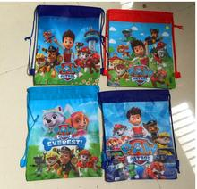 (12 Pcs/Lot) Cartoon Paw Patrol Snow Slide Theme Travel Home Clothing Organizer Storage Bags(China (Mainland))