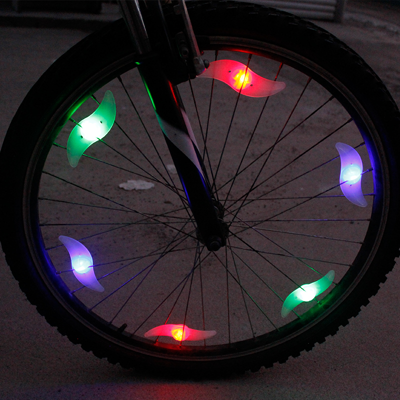 1PCS Multi-Color Kids Bike Bicycle Light Cycling Spoke Wire Tire Tyre Wheel LED Bright Lamp(China (Mainland))