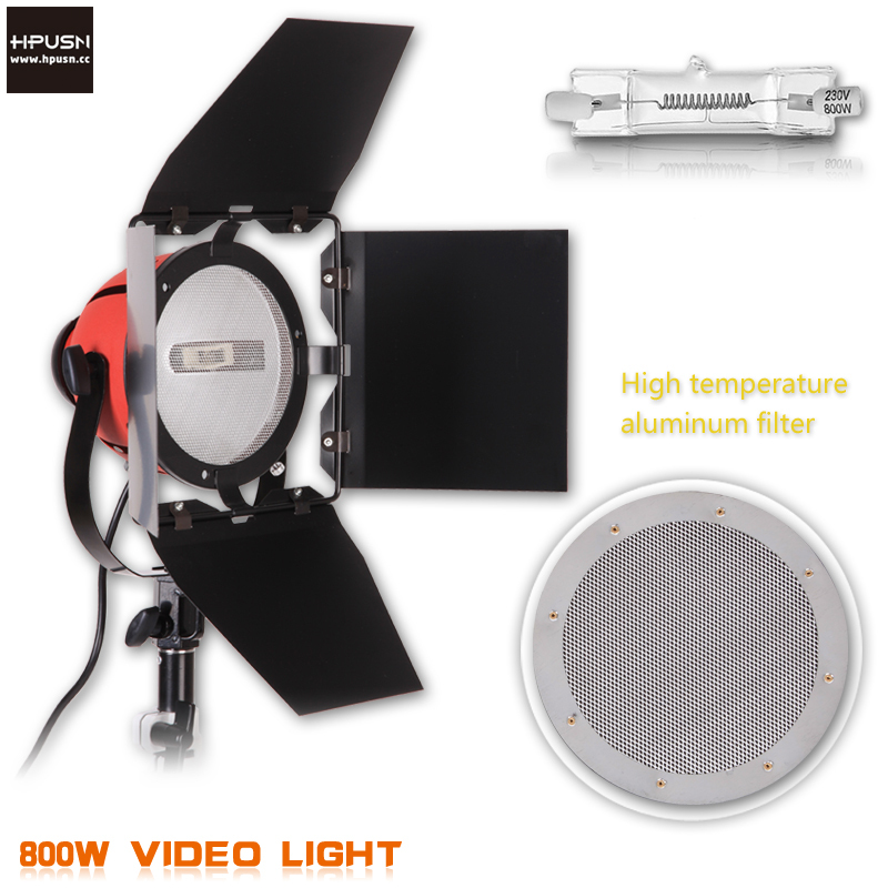 HPUSN Professional Photo Video Studio Continuous Red Head Light 800w Video Lighting(China (Mainland))