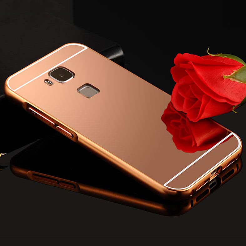 Top quality Luxury Metal Aluminum Frame & Electroplating PC Back Cover Case For Letv Le MAX X900 MX1 Mobile Phone Cover