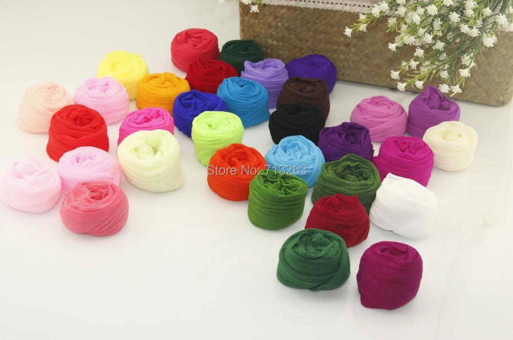 Free Shipping tensile stocking is 2.5m Multicolor Flower Nylon Stocking Material Accessory handmade diy nylon flower stocking(China (Mainland))