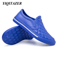 YIQITAZER 2017 Nice Home Summer Slippers Men Shoes Floor Indoor and Outdoor PVC Funny Beach Soft